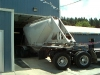 Simi Trailer hauling Cattle Feed